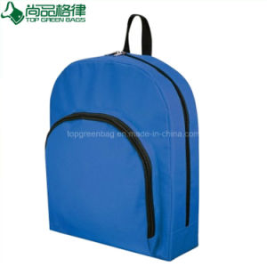 Cheap Customized Promotional Simple Polyester Backpack Bag for Sale pictures & photos