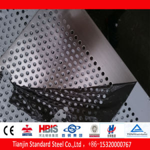 Inox 304 Ss Perforated Sheet Brushed No. 4 Mirror pictures & photos