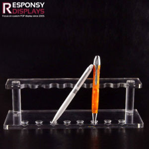 Fashionable Custom Clear Acrylic Counter Top Writing Materials Display Stand pictures & photos