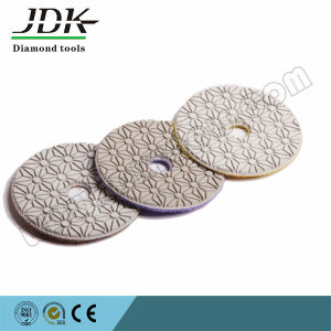 3 Step Diamond Wet Polishing Pad pictures & photos