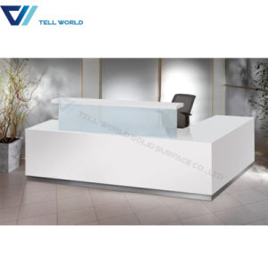 Front Reception Counter Desk Modern Design Desk pictures & photos