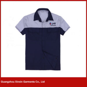 Custom Made Short Sleeve Working Apparel for Summer (W266) pictures & photos