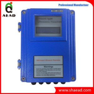 Clamp on Transducer Ultrasonic Flowmeter pictures & photos