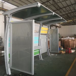 Metal Digital Bus Stop Shelter Station Advertising Signage Equipment pictures & photos