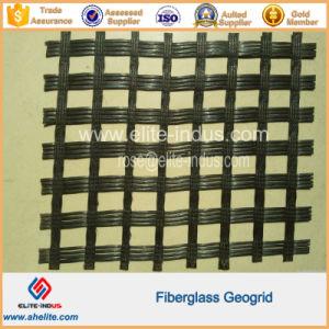 100kn/M 50kn/M Fiberglass Glassfiber Geogrid pictures & photos