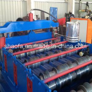 Color Steel Sheet Roofing Tile Roll Forming Machine/Step Tile/Roll Former Machine pictures & photos