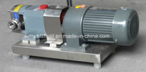 High Quality Stainless Steel Three-Lobe Pump with Electric Cabinet pictures & photos