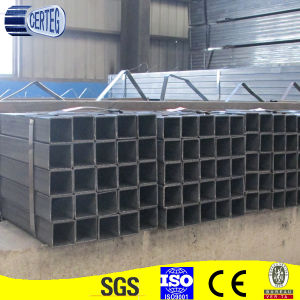 60X40mm Mild Steel Rectangular Carbon Steel Tube for Structure pictures & photos