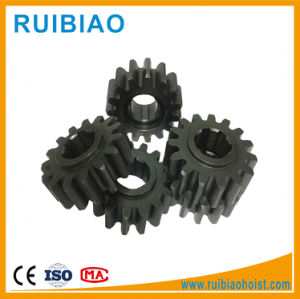 Custom Steel Pinion Gear Construction Hoist Starter Pinion Gear pictures & photos