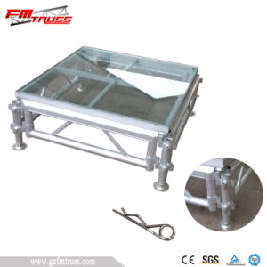 Portable Easy Install Glass Stage Platform pictures & photos
