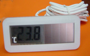 Solar-powered Digital Panel Thermometer (TPM-150/150A/150B) pictures & photos