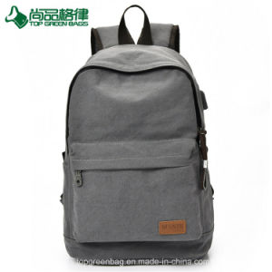 Wholesale Trendy Canvas Backpack Custom Easy Travel Back Pack pictures & photos