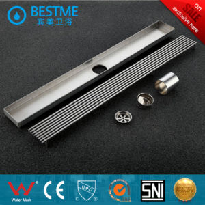 Long Bar Shape Stainless Steel Floor Drain for Hotel Project (BF-K72) pictures & photos