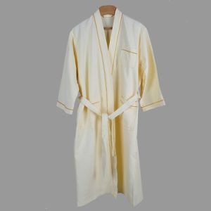 Promotional Hotel / Home Cotton Waffle Bathrobe / Pajama / Nightwear / Sleepwear with Logo pictures & photos