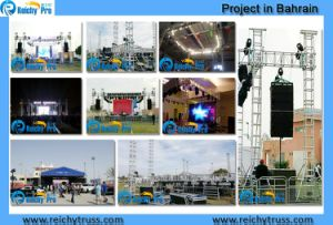 Aluminium Roof Structure/Concert Lighting Tower Truss Compatible with Global Truss pictures & photos