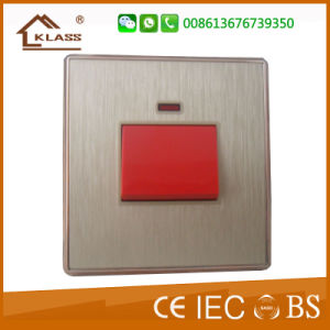20A Wall Switch Electric Home Wall Switch for Sale pictures & photos