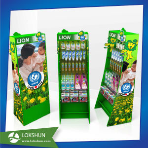 Store Cardboard Display Shelf, Advertising Paper Display Stand pictures & photos