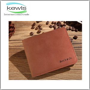 2017 Solid Color Promotional High Quality Men Wallet pictures & photos