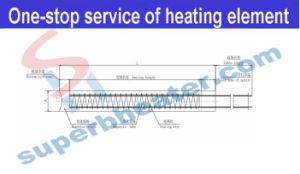 High Temperature Leads Cartridge Heater Heating Rods pictures & photos