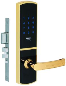 Residential Mortise Code Card Key Lock for Home pictures & photos