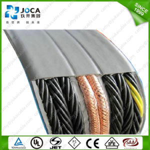 VDE Certificated Flexible Multicore PVC Flat Elevator Cable 300/500V 450/750V pictures & photos