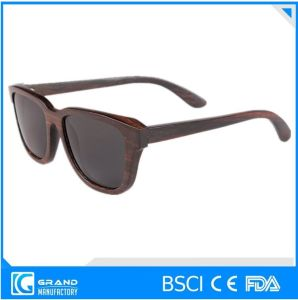 High Quality Custom Logo Wholesale Wooden Sunglasses pictures & photos