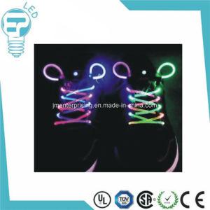 Hot Sale Flashing LED Shoelace Colorful Luminous LED Shoestring pictures & photos
