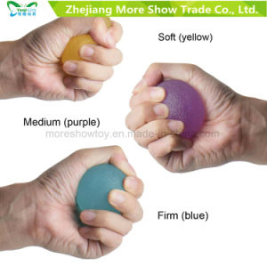 TPR Hand Therapy Stress Relief Strength Trainer Grip Balls pictures & photos