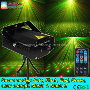 Multi Pattern Mini Laser Stage Lighting Twinkling Star Effect with Remote Control pictures & photos