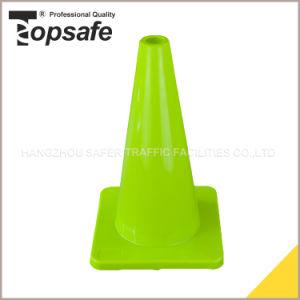 45cm Limon Green Color PVC Traffic Cone pictures & photos