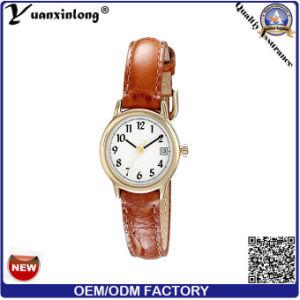 Yxl-074 Custom High Quality Leather Casual Ladies Watch Unisex Quartz Watch Women Wrist Whloesale pictures & photos