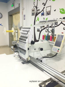 1 Head 12 Needle Cording Embroidery Machine with Big Embroidery Area 500X1200mm Wy1201cl pictures & photos