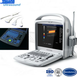Beauty Medical Equipment Portable Color Doppler Ultrasound System pictures & photos