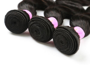 7A Brazilian Body Wave Human Hair 3 Bundles Virgin Human Hair Extension pictures & photos