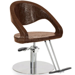 Soft Shaping Sponge with Metal Structure Reinforcement Salon Chair (A303) pictures & photos