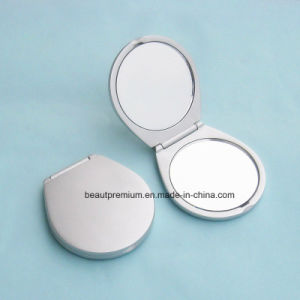 Fashion Irregular Double Side Pocket Metal Makeup Mirror BPS0211 pictures & photos
