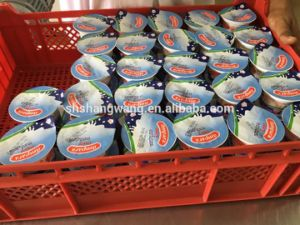 Yoghurt Fruit Juice Mini Cup Filling Sealing Machine pictures & photos