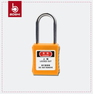 4mm Diameter Thin Shackle Safety Padlock (BD-G71) pictures & photos