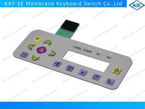Customized Membrane Switch with Rubber Buttons Keypad pictures & photos