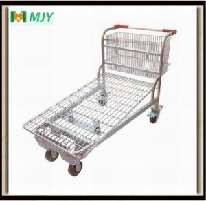 Warehouse Flat Cart Mjy-M06 pictures & photos