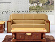 PU Leather Office Furniture Office Sofa (SF-6077) pictures & photos
