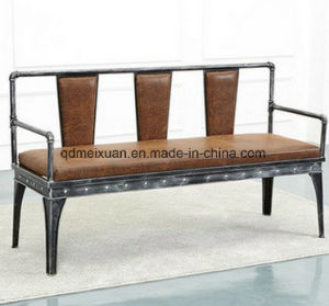 American Industrial Style Restoring Ancient Ways, Wrought Iron Solid Wood Sofa Do Old Wood Sofa Chair (M-X3731) pictures & photos