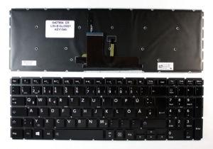 Laptop Keyboard/Gaming Keyboard for Toshiba L50-B L50d-B Series Black pictures & photos