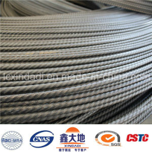7.0mm High Tensile PC Steel Wire with Spiral Ribs for Kenya