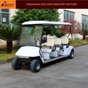 Ce Certification 6 Seater Electric Golf Cart pictures & photos