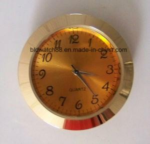 Customized Analog Quartz Alloy Metal Mini Clock Insert 27mm pictures & photos