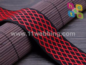 Nylon Twill Jacquard Webbing for Bag Strap pictures & photos
