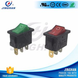 Single Pole Illuminated Rocker Switch with Lamp pictures & photos
