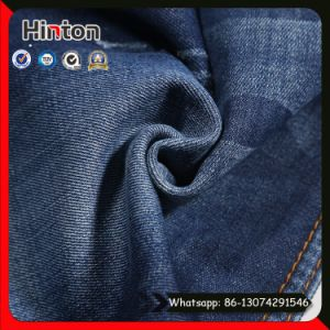 80/20 Cotton Polyester Slub Denim Fabric for Jeans pictures & photos