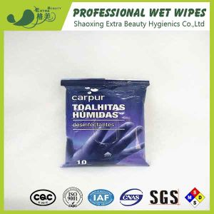 Desinfectantes Antibacterial Wet Wipes for Hand Cleaning pictures & photos